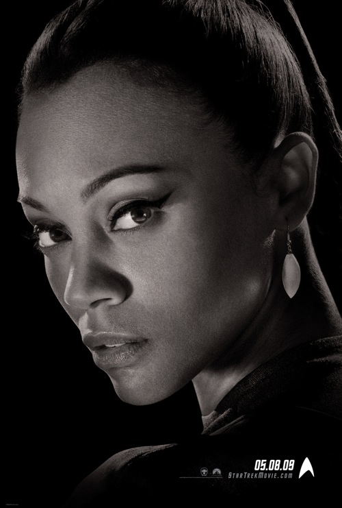 Zoe Saldana in J.J. Abrams' new Star Trek